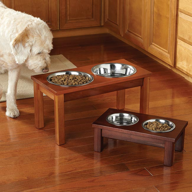 Elevated Dog Feeders